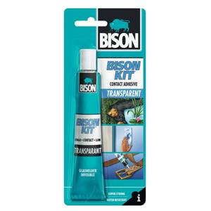 Bison Kit Transparant Contactlijm